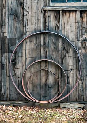 Photograph - Country Rings by Susan Candelario