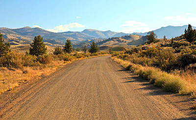 Photograph - Country Road by Athena Mckinzie