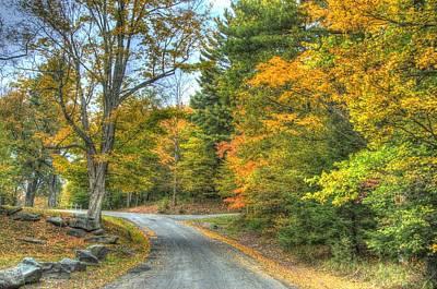 Country Road Art Print by Chris Hartman Price