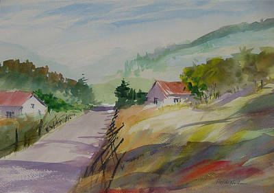 Painting - Country Road II by Heidi Patricio-Nadon
