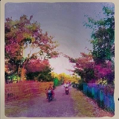 Pathway Wall Art - Photograph - Country Road by Vika Klaretha Dyahsasanti
