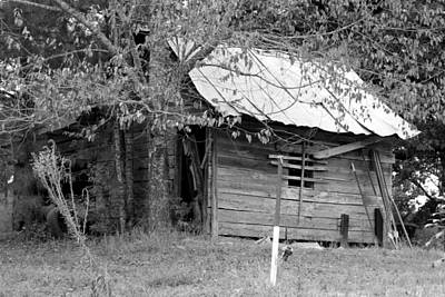 Shed Digital Art - Country Shed by Suzanne  McClain