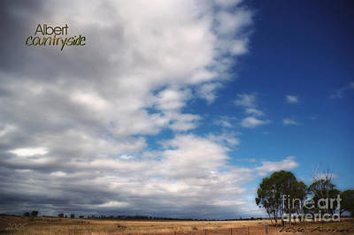 Art Print featuring the photograph Country Sky by Vicki Ferrari