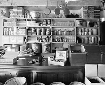 Country Store Interior Original by Jan W Faul