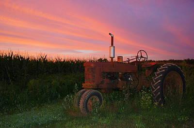 Country Sunset Art Print by Corrie McDermott