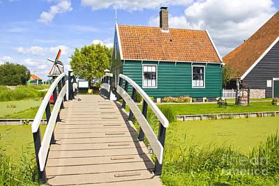 Zaandam Photograph - Countryside Landscape In Holland by Giancarlo Liguori