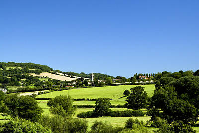 Y120831 Photograph - Countryside Near Bathampton, Somerset by Graham Bell