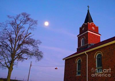 Photograph - County Church-1 by Chris Berry