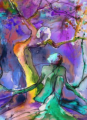 Painting - Coup De Foudre 02 by Miki De Goodaboom
