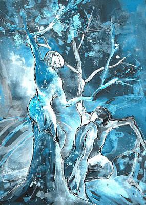 Painting - Coup De Grace 02 by Miki De Goodaboom