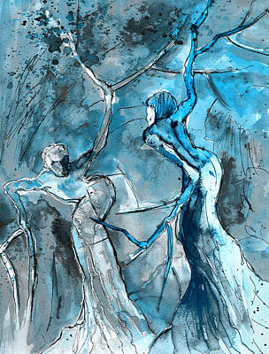 Painting - Coup De Tete 02 by Miki De Goodaboom