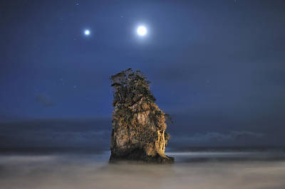 Couple Of Jovian And Lunar Lights Art Print