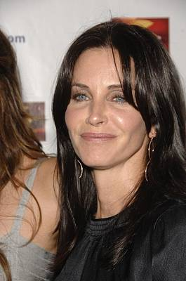 Courteney Cox At Arrivals Art Print by Everett