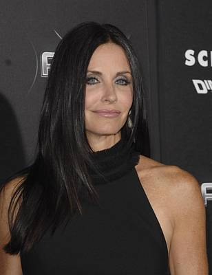 Courteney Cox At Arrivals For Scream 4 Art Print by Everett