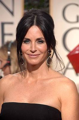 Courteney Cox Wearing Ofira Schwartz Art Print by Everett