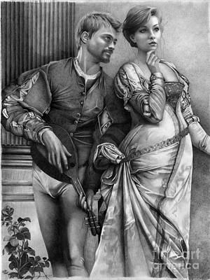 Courting Art Print by David Vanderpool