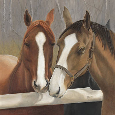 Painting - Courtship by Tammy  Taylor