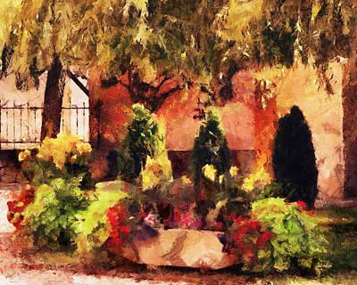 Painting - Courtyard by Jai Johnson