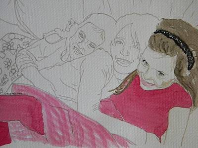 Cousins 1 Of 3 Art Print