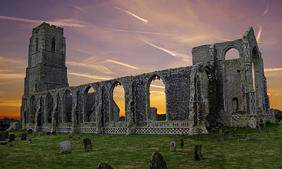 Art Print featuring the photograph Covehithe Abbey - Suffolk by Rod Jones