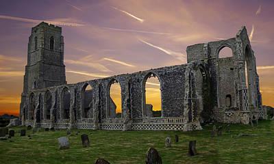 Covehithe Abbey - Suffolk Art Print by Rod Jones
