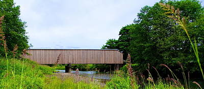 Photograph - Covered Bridge by Ansel Price