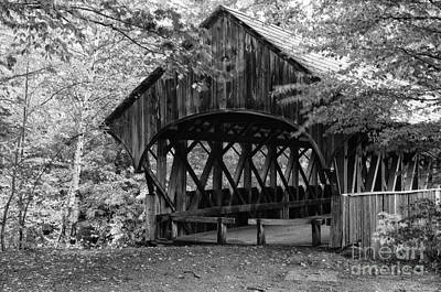 Photograph - Covered Bridge by David Waldrop
