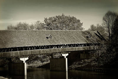 Photograph - Covered Bridge Of Frankenmuth by Scott Hovind