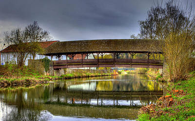Photograph - Covered Bridge by Sean Allen
