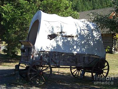 Covered Wagon Art Print by Charles Robinson