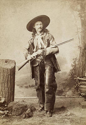 1880s Photograph - Cowboy, 1880s by Granger