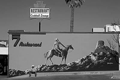Cowboy Billboard  Original by Alex Lemus
