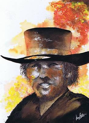 Cowboy Clint  Art Print