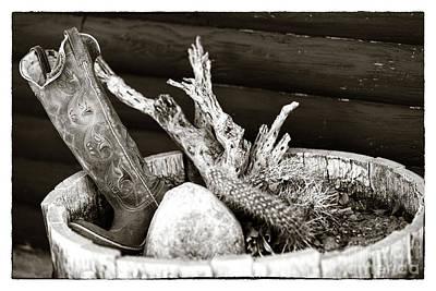 Photograph - Cowboy Plant by John Rizzuto