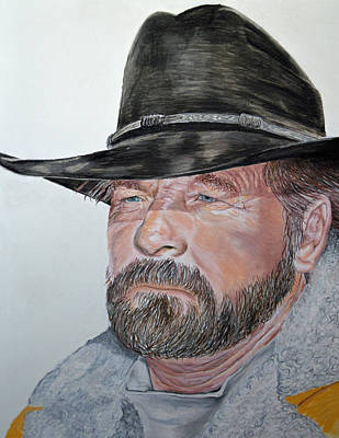 Pastel - Cowboy Up by Ann Marie Chaffin