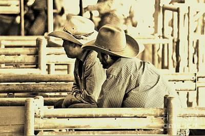Photograph - Cowboys by Don Youngclaus