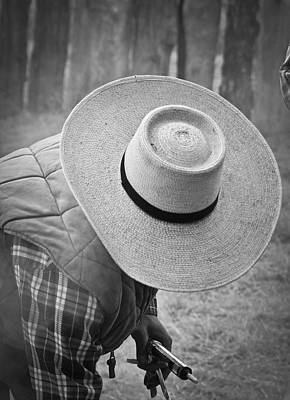 Photograph - Cowboys Signature 3 by Diane Bohna