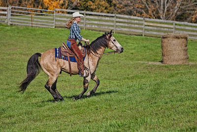 Equestrian Clothes Photograph - Cowgirl At Heart by Susan Candelario