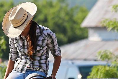 Photograph - Cowgirl Dreams by Elizabeth Hart