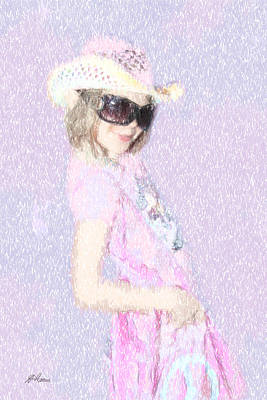 Photograph - Cowgirl For Peace by Diana Haronis