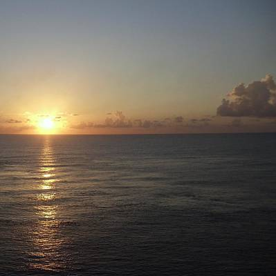 Photograph - Cozumel Sunset by Riley Geddings