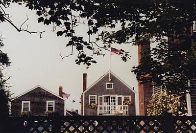 Photograph - Cozy Nantucket by Barbara Plattenburg