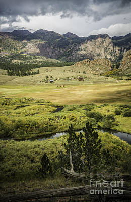 Photograph - Cr 77 Valley Scene by David Waldrop