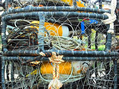 Photograph - Crab Traps In Bodega Bay by Kelly Manning
