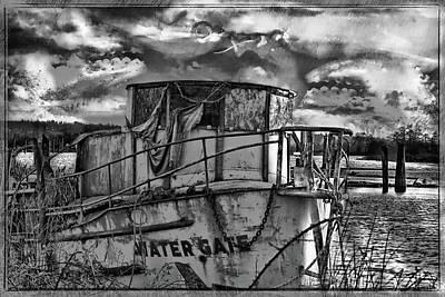 Boating Digital Art - Crab's Revenge by DMSprouse Art