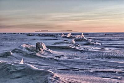 Voyageurs Photograph - Crack Colour Landscape by Jakub Sisak