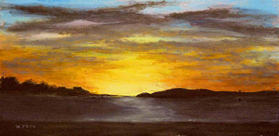 Painting - Crack Of Dawn by William Frew