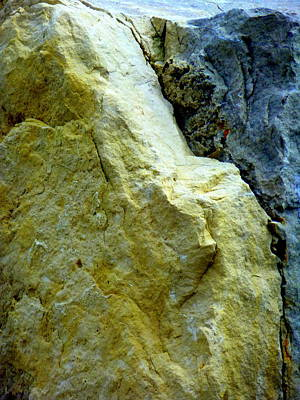 Photograph - Cracked Rock by Beth Akerman