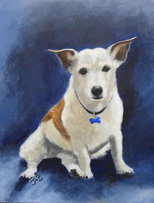 Cracker Jacks Painting - Cracker by Janice M Booth