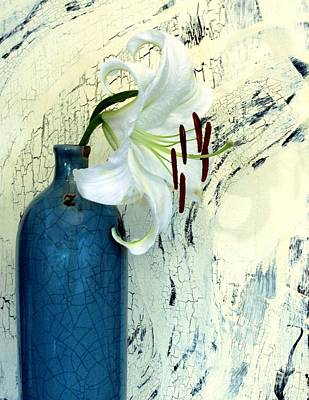 Asiatic Lily Photograph - Cracklin Lily by Marsha Heiken
